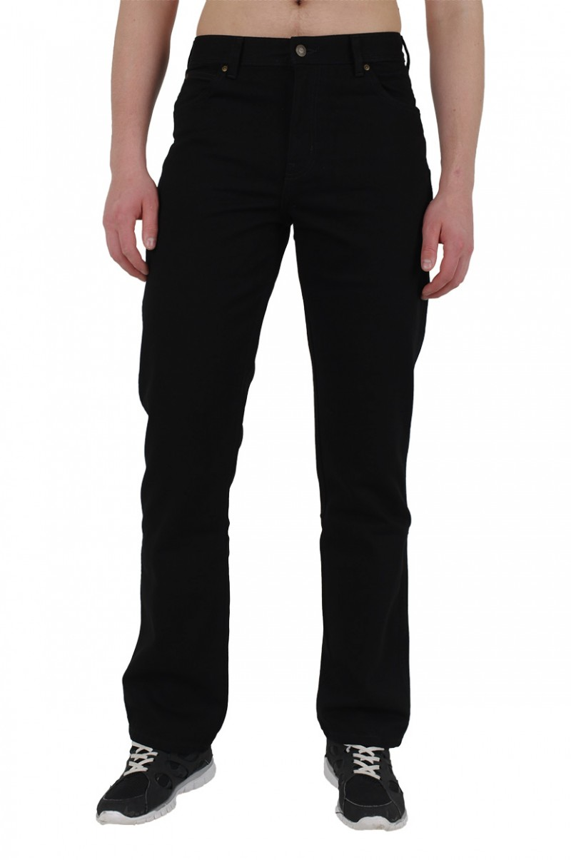 Wrangler Regular Fit Jeans - Schwarz