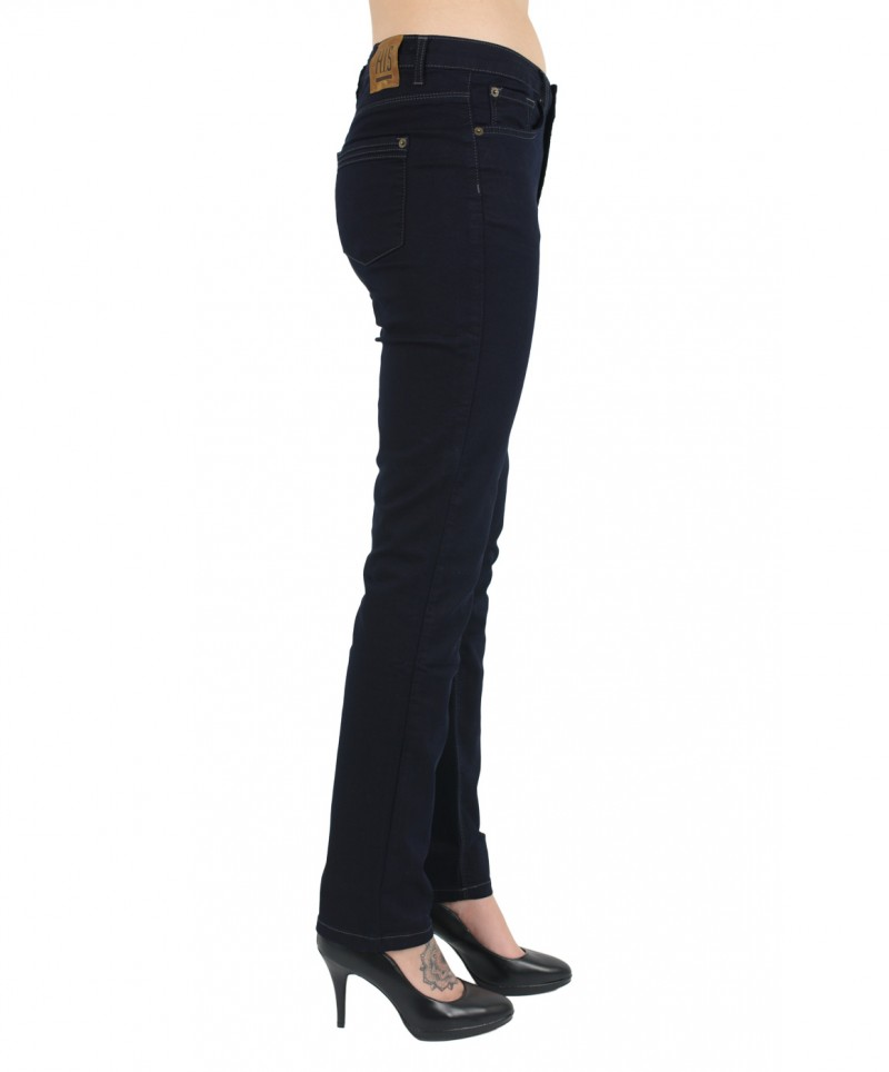HIS MARYLIN Jeans - Comfort Fit - Rich Blue Black