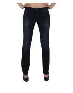 MAVI OLIVIA - Straight Leg Jeans - Dark Ink