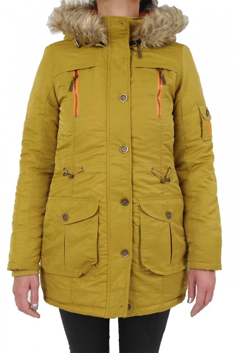 Vero Moda Willow Parka - Bronze Mist