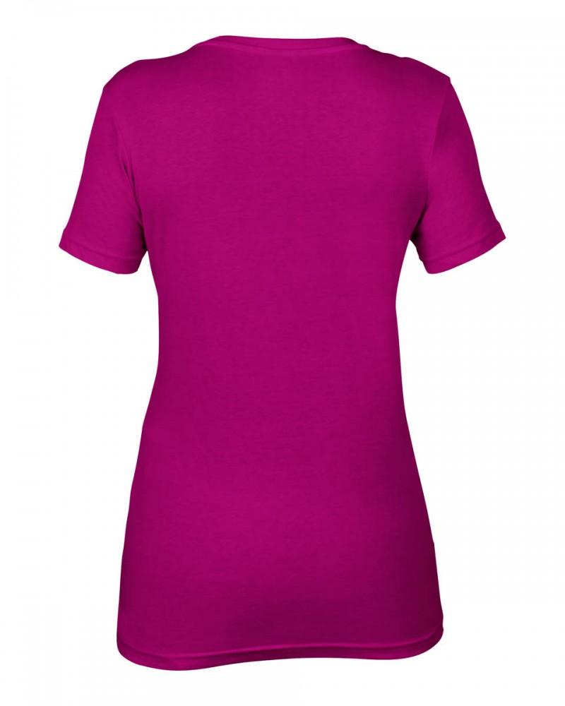 Anvil T-Shirts - Sheer V-Ausschnitt  - Raspberry v