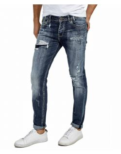 LTB SERVANDO X - Tapered Leg Jeans - Erwin Wash