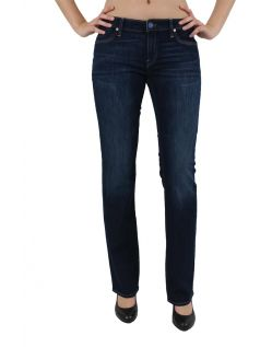 Mavi Mona Jeans - Straight Leg - Dark Blue Edge Str. v