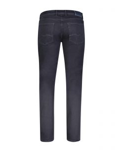 Mac Arne Pipe - enge Jeans in Blue Black Waschung - Hinten