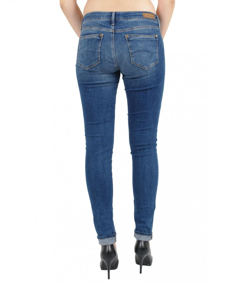 MAVI ADRIANA Jeans - Super Skinny - Deep Shaded