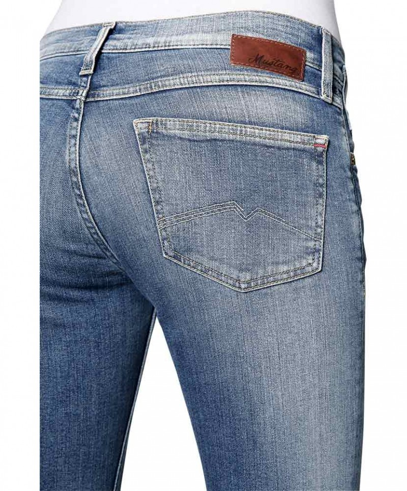 Mustang Girls Oregon Jeans - Brushed Bleached