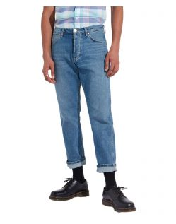 Wrangler Herren Tapered Jeans Slider in Blue Charm