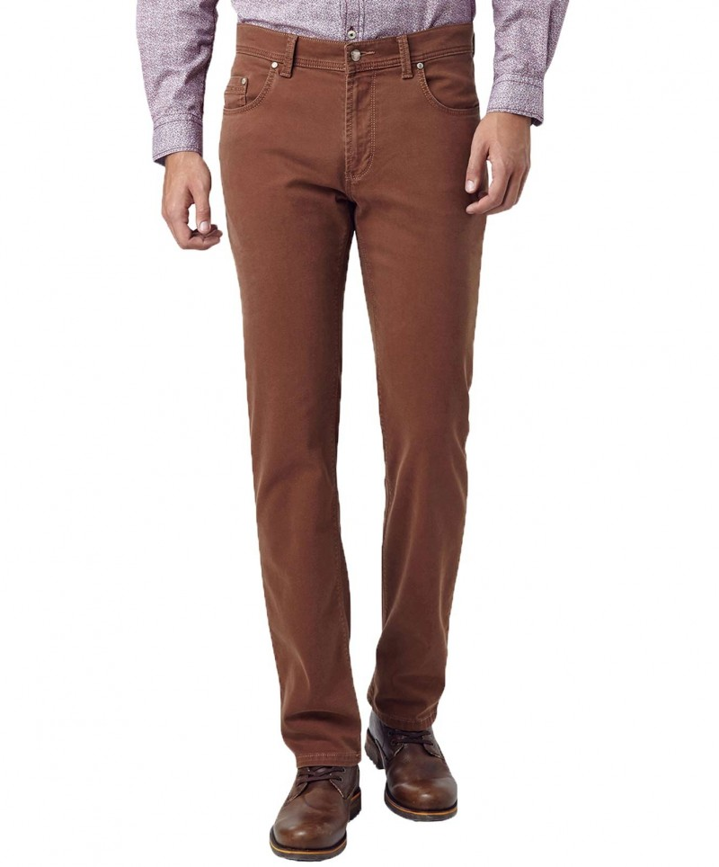 Pioneer Jeans Rando - Supersoft Garbardine - Rust