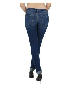 MAVI SERENA  - Super Skinny Jeans - Dark Used - Hinten