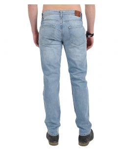 HIS STANTON Jeans - Straight Leg - Blue Blast Wash - Hinten
