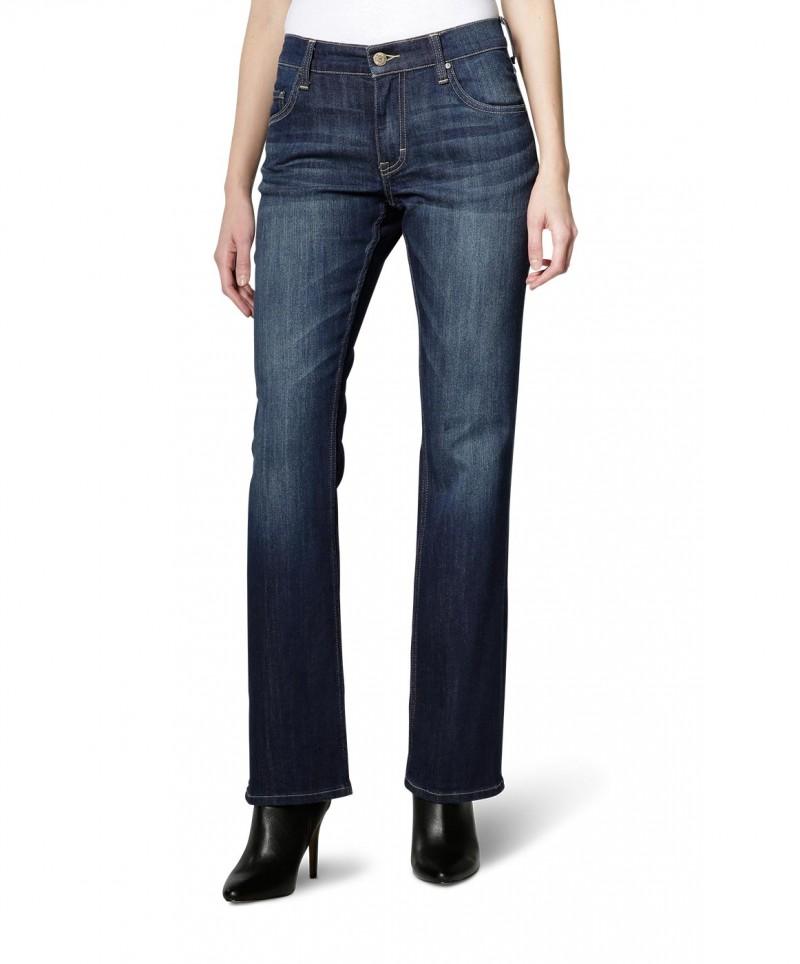 Mustang Sissy - Bootcut Jeans - Dark Rinse Used