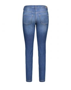 Mac DREAM SKINNY - Slim Fit Jeans - Mid Blue Authentic Wash - Hinten