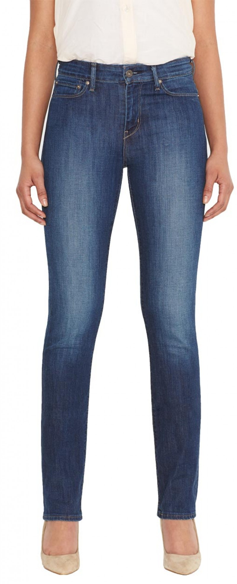 Levis Demi Curve - Straight Jeans - Justice v