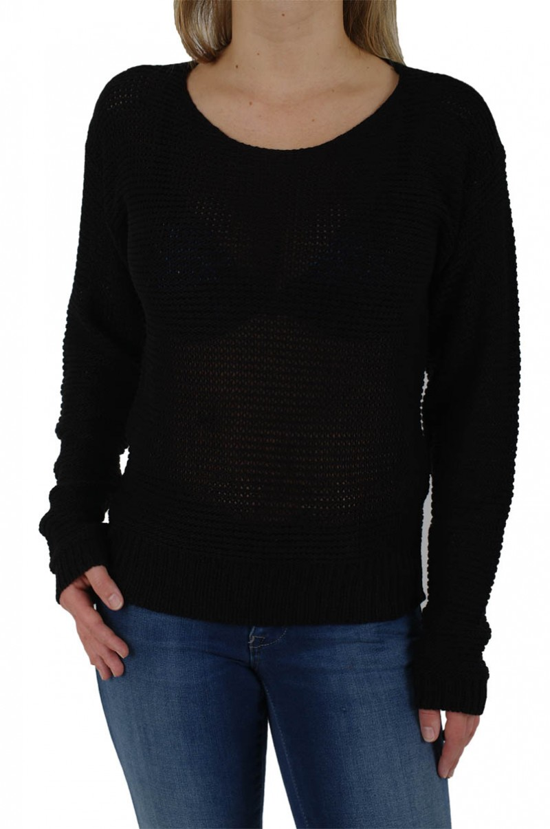 Vero Moda - Strick Pullover Sevilla - Black