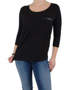 Vero Moda - Shirt Jenny 3/4 Arm - Black