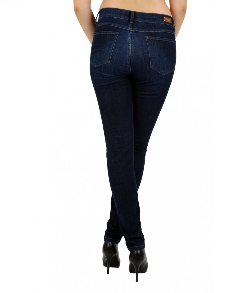 Angels Skinny Jeans - Power Stretch - Stone Used Buffi