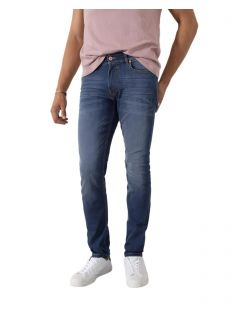 HIS CLIFF - Slim Fit Jeans - Pure Medium Blue Wash