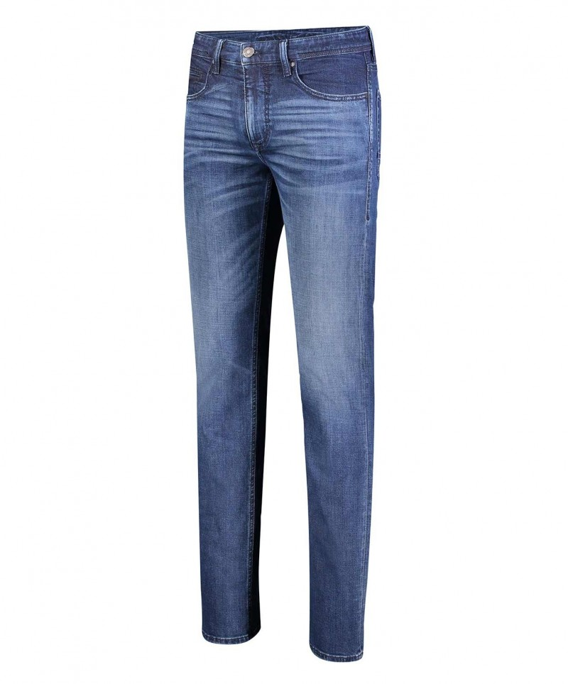 Mac Jeans Arne aus Left Hand Denim in Indigoblau