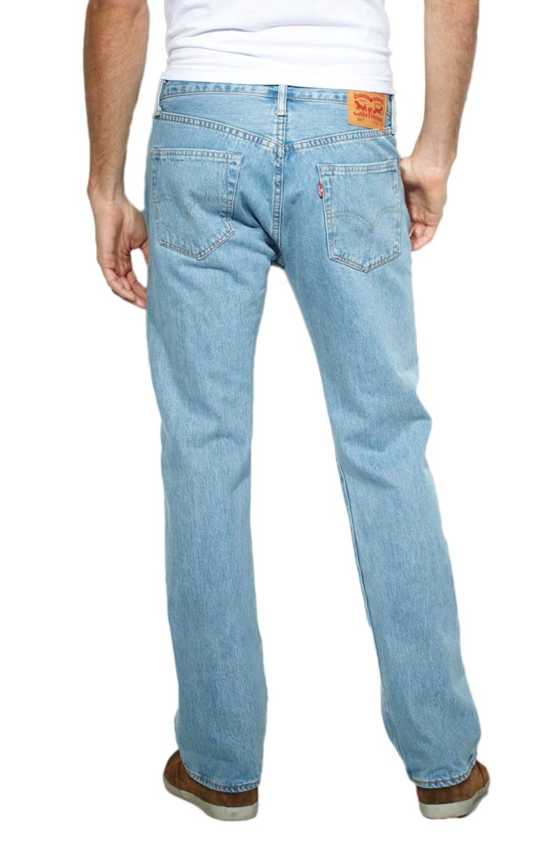 Levi's 501 Jeans in Light Broken In