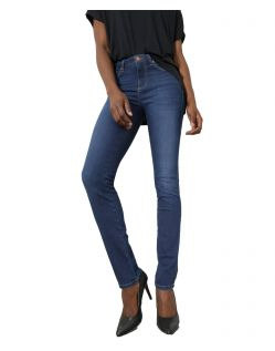 HIS MARYLIN Jeans - Slim Fit - Medium Blue Wash