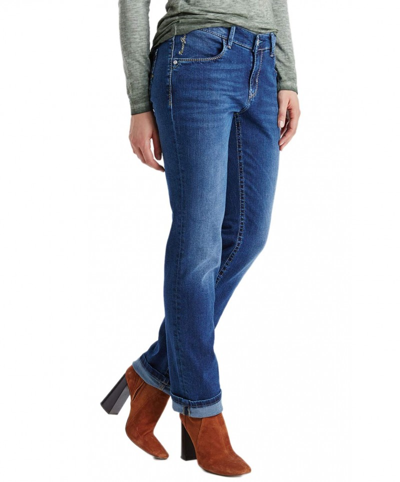PIONEER SALLY Jeans - Blue Stone Used with Buffies