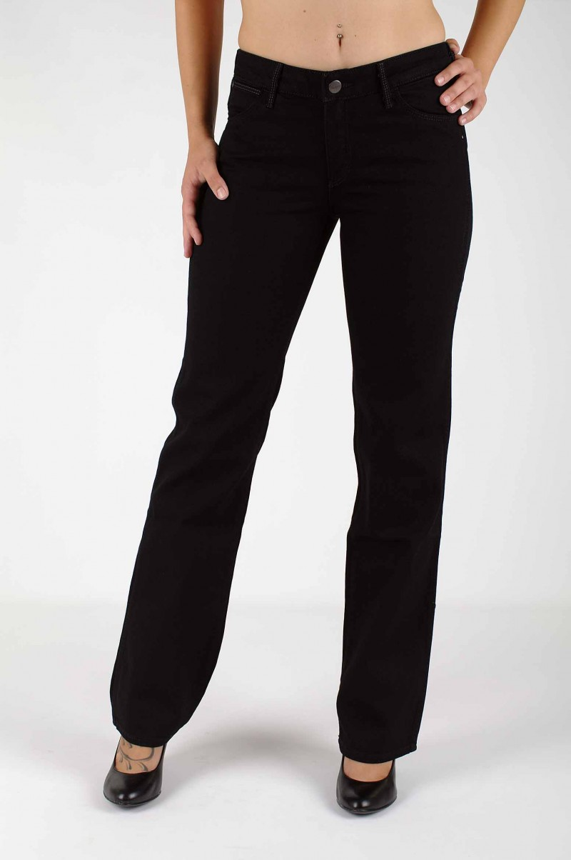 Wrangler Sara Jeans in Pitch Black