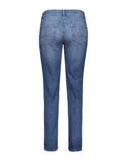 MAC MELANIE Jeans - Feminine Fit - Authentic Mid Blue Used - Hinten