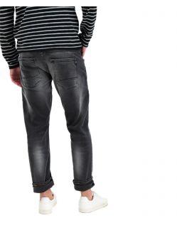 Garcia Russo - Tapered Jeans in Vintage-Schwarz - Hinten
