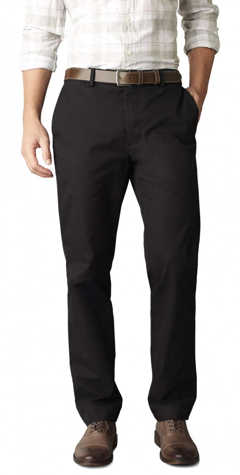 Dockers SF Khaki Hose - Slim Tapered - Black v