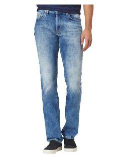 Pioneer Rando - Hellblaue Jeans mit geradem Bein