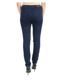Angels Skinny Jeans - Sweat Denim - Dark Rinse - Hinten