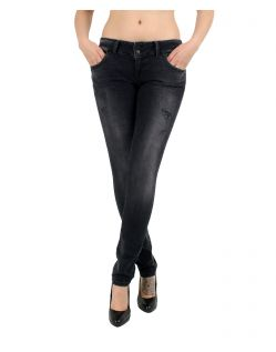 LTB MOLLY - Super Slim Jeans - Vista Black