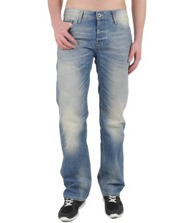Fuga Jeans Cortez - Straight Leg - Light Blue Used