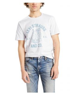 LEVI'S T-Shirt - Neck Graphic Set - Bear White