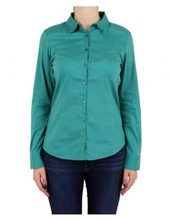 Vero Moda - Cousin Princess Bluse - Green Blue Slate
