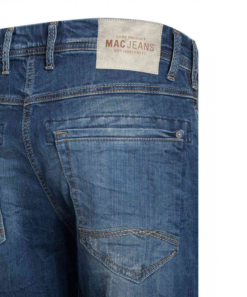 MAC Ben Pipe - Recycled Denim - Light Used