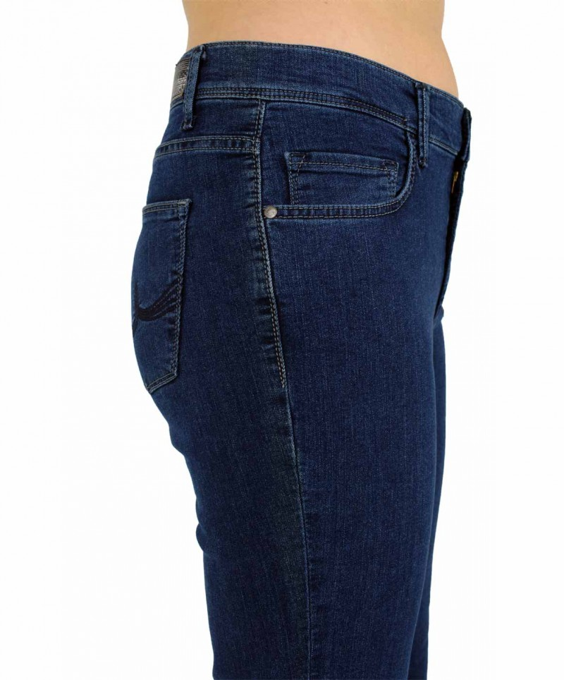 Pioneer Betty Jeans - Powerstretch - blue superstone