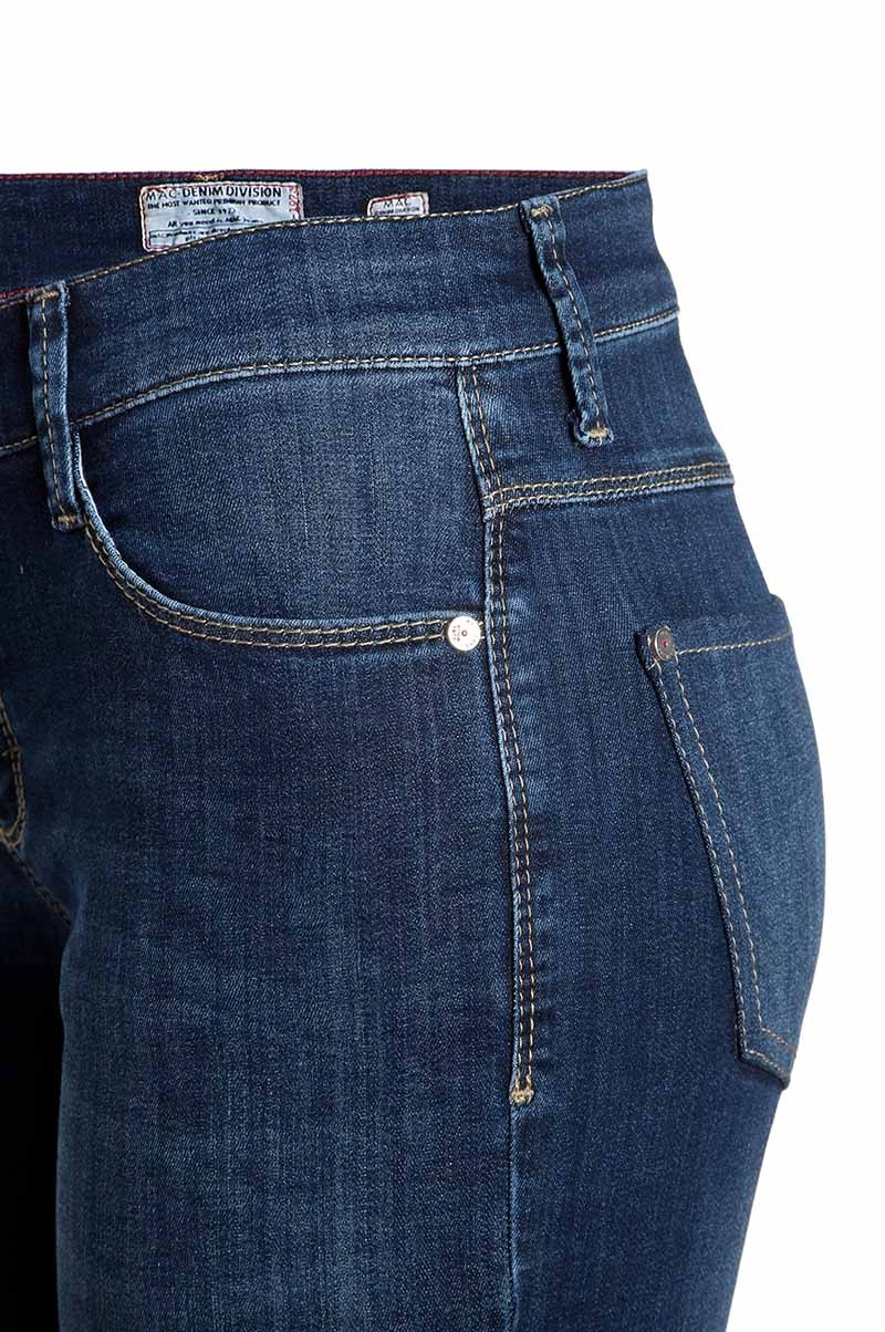 MAC MELANIE - Jeans Straight Leg - authentic blue used