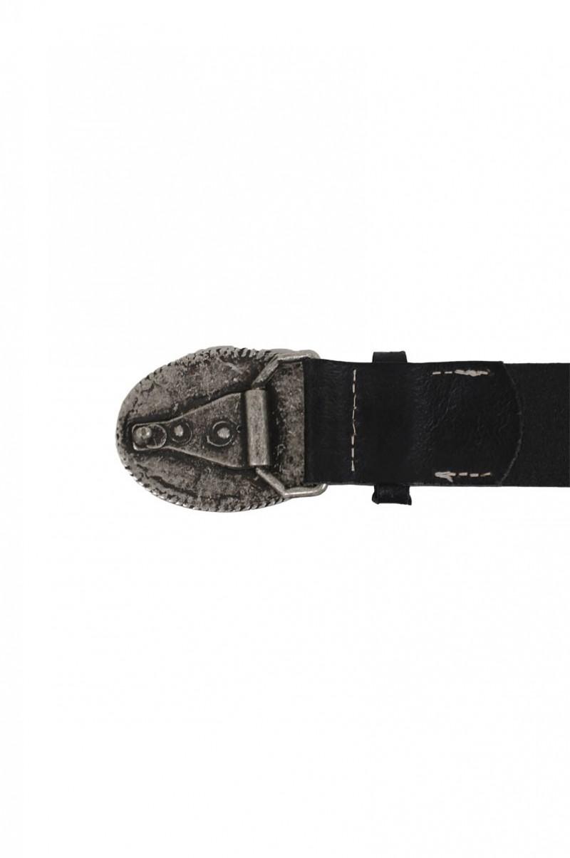 Mustang Gürtel - Women Ledergürtel Buckle - Black
