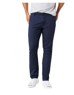 Dockers Alpha - marineblaue Chino hose mit flexiblen Hosenbund