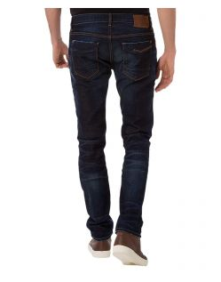 Cross Jeans Johnny - Slim fit Jeans im dunklen Used-Look - B02