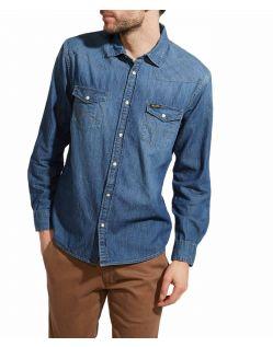 Wrangler Jeans - Slim Fit Hemd im Western Style