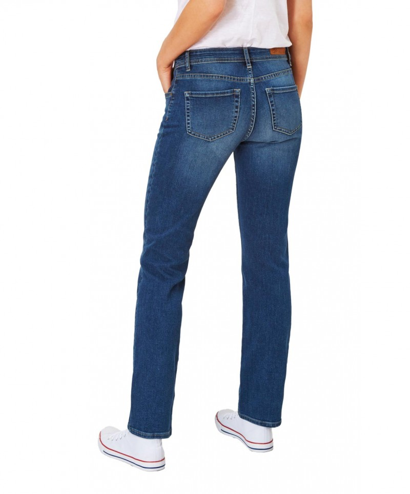 Paddocks Tracy Jeans - Medium Blue Moustache