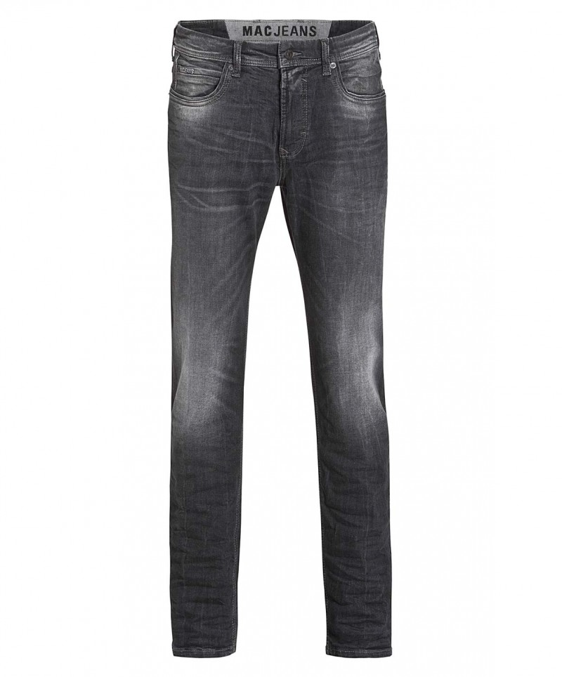 MAC Ben Pipe - Recycled Denim - Black Legend Used