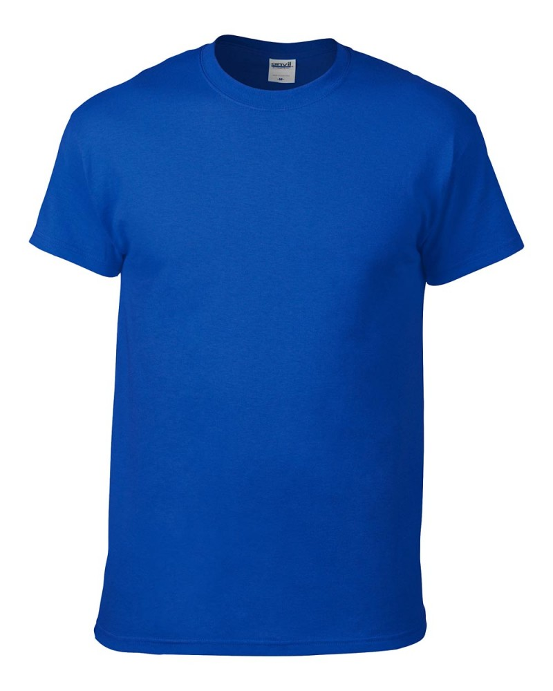 Anvil T-Shirt - Heavyweight - Royal Blue