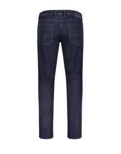 Mac Arne - Straight Fit Jeans in dunkelblau - Hinten