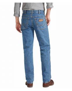 Wrangler Texas Jeans in Stonewash W121 05 099 - Hinten