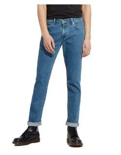 Wrangler Greensboro - blaue Stonewash Jeans mit geradem Bein