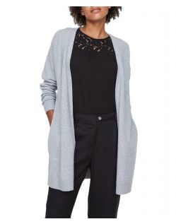 Vero Moda Doffy - Strick Cardigan in Grau