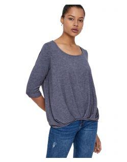 Vero Moda Zhei - Lässige Bluse mit gefalteten Ärmeln